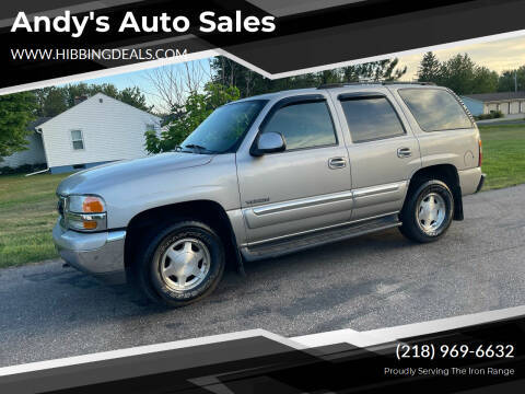 2004 GMC Yukon for sale at Andy's Auto Sales in Hibbing MN