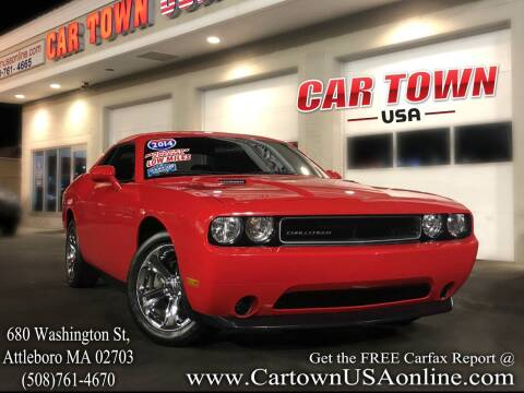 2014 Dodge Challenger for sale at Car Town USA in Attleboro MA
