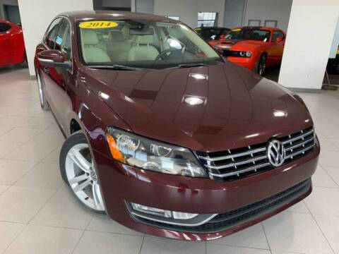 2014 Volkswagen Passat for sale at Auto Mall of Springfield in Springfield IL