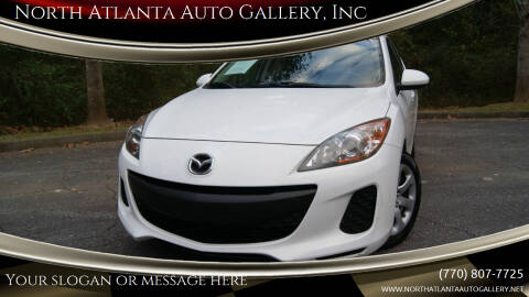 2012 Mazda MAZDA3 for sale at North Atlanta Auto Gallery, Inc in Alpharetta GA