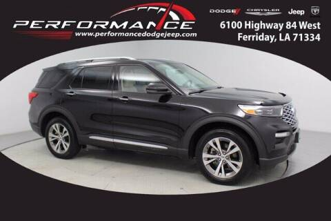2020 Ford Explorer for sale at Auto Group South - Performance Dodge Chrysler Jeep in Ferriday LA