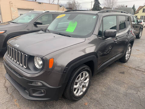 2016 Jeep Renegade for sale at PAPERLAND MOTORS in Green Bay WI
