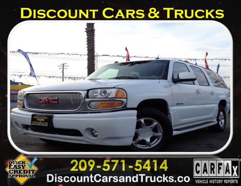2005 GMC Yukon XL for sale at Discount Cars & Trucks in Modesto CA