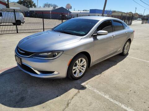 2015 Chrysler 200 for sale at A & J Enterprises in Dallas TX