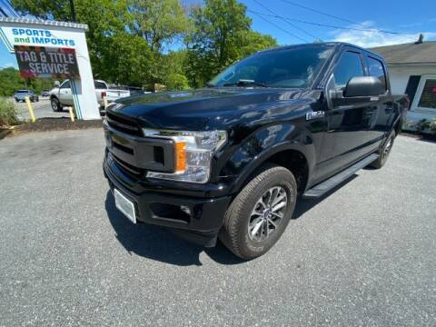 2018 Ford F-150 for sale at Sports & Imports in Pasadena MD