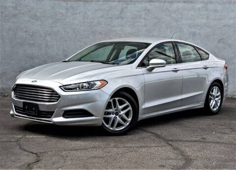 2014 Ford Fusion for sale at Divine Motors in Las Vegas NV