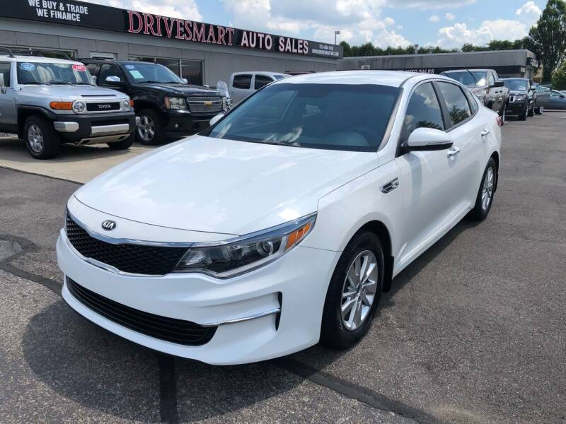 2018 Kia Optima for sale at DriveSmart Auto Sales in West Chester OH