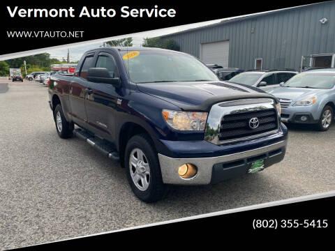 2008 Toyota Tundra for sale at Vermont Auto Service in South Burlington VT