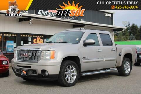 2008 GMC Sierra 1500 for sale at Del Sol Auto Sales in Everett WA