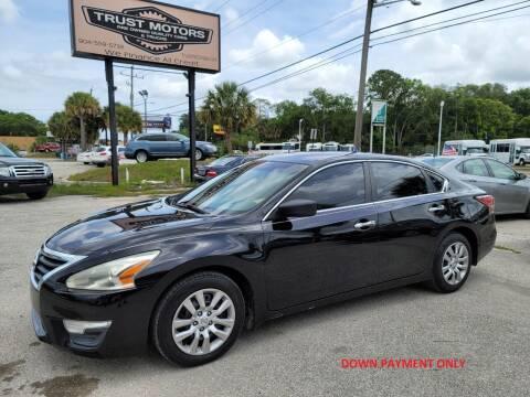 2015 Nissan Altima for sale at Trust Motors in Jacksonville FL