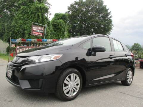 2015 Honda Fit for sale at Vigeants Auto Sales Inc in Lowell MA
