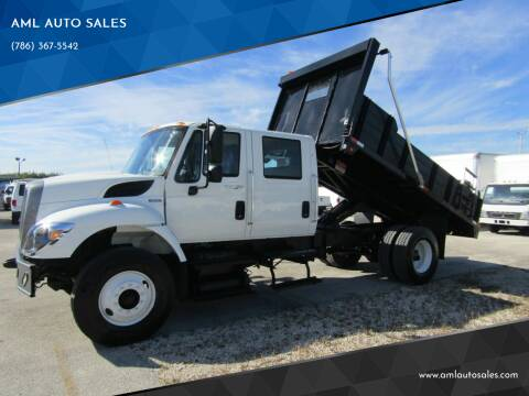 2008 International WorkStar 7300 for sale at AML AUTO SALES - Dump Trucks in Opa-Locka FL