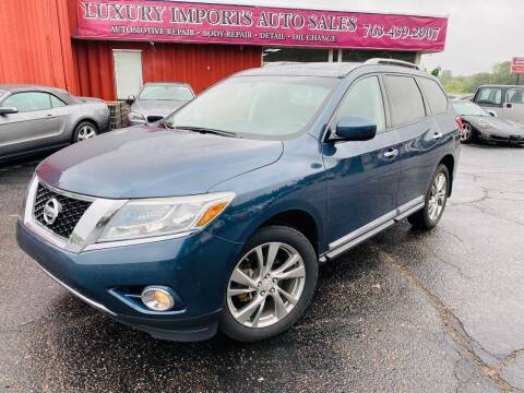 2014 Nissan Pathfinder for sale at LUXURY IMPORTS AUTO SALES INC in North Branch MN