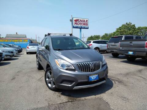 2014 Buick Encore for sale at Eagle Motors in Hamilton OH