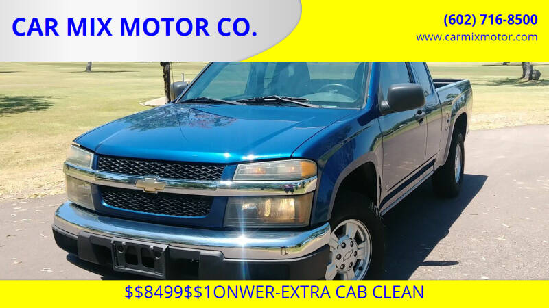 2006 Chevrolet Colorado for sale at CAR MIX MOTOR CO. in Phoenix AZ