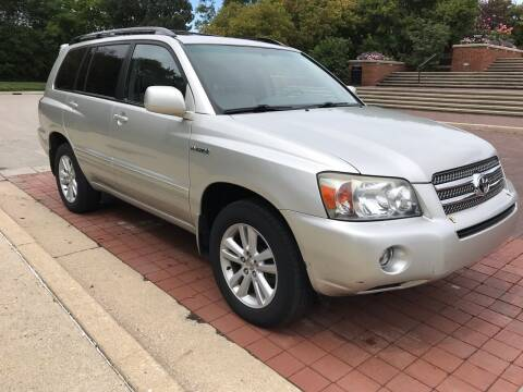 2006 Toyota Highlander Hybrid for sale at Third Avenue Motors Inc. in Carmel IN