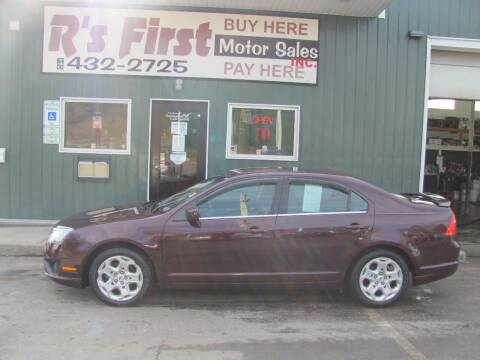 2011 Ford Fusion for sale at R's First Motor Sales Inc in Cambridge OH