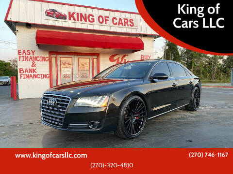2012 Audi A8 L for sale at King of Cars LLC in Bowling Green KY