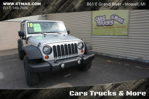 2010 Jeep Wrangler Unlimited for sale at Cars Trucks & More in Howell MI