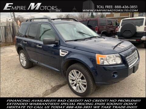 2009 Land Rover LR2 for sale at Empire Motors LTD in Cleveland OH