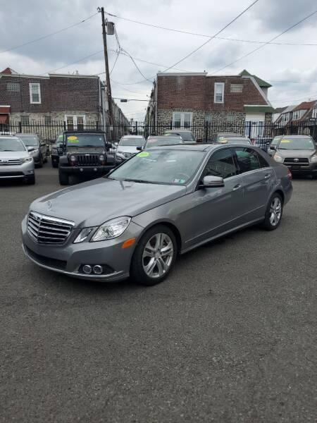 2010 Mercedes-Benz E-Class for sale at Key & V Auto Sales in Philadelphia PA