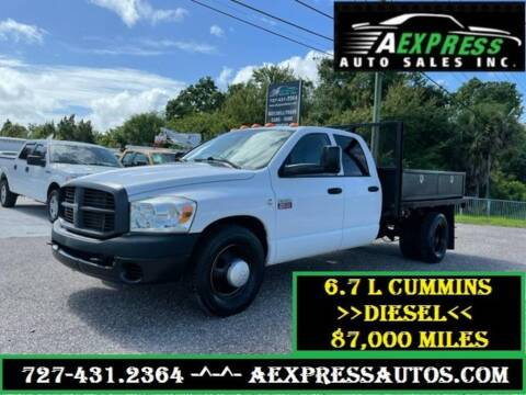 2008 Dodge Ram Pickup 3500 for sale at A EXPRESS AUTO SALES INC in Tarpon Springs FL