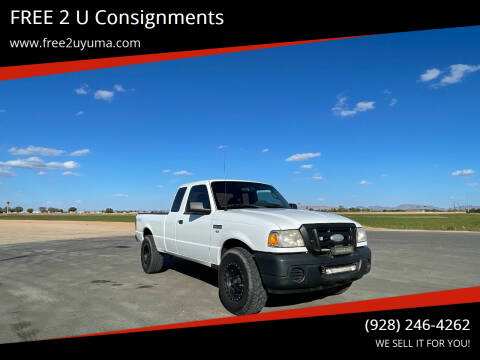 2009 Ford Ranger for sale at FREE 2 U Consignments in Yuma AZ