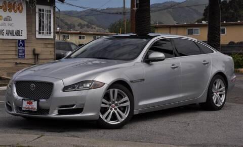 2016 Jaguar XJL for sale at AMC Auto Sales, Inc. in Fremont CA