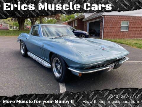 1966 Chevrolet Corvette for sale at Erics Muscle Cars in Clarksburg MD