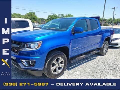 2020 Chevrolet Colorado for sale at Impex Auto Sales in Greensboro NC