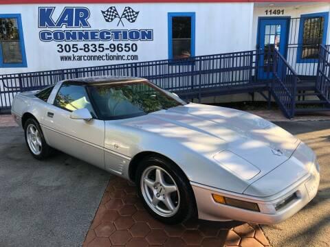 1996 Chevrolet Corvette for sale at Kar Connection in Miami FL