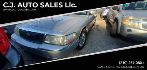 2005 Mercury Grand Marquis for sale at C.J. AUTO SALES llc. in San Antonio TX