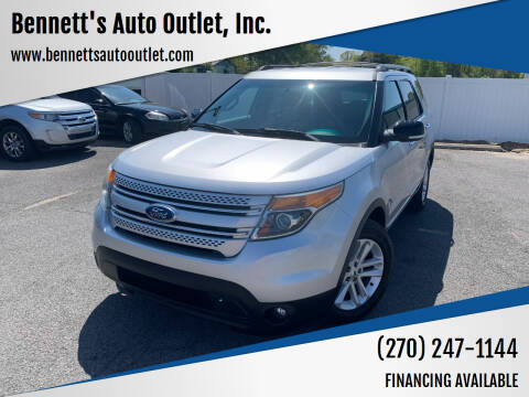 2013 Ford Explorer for sale at Bennett's Auto Outlet, Inc. in Mayfield KY