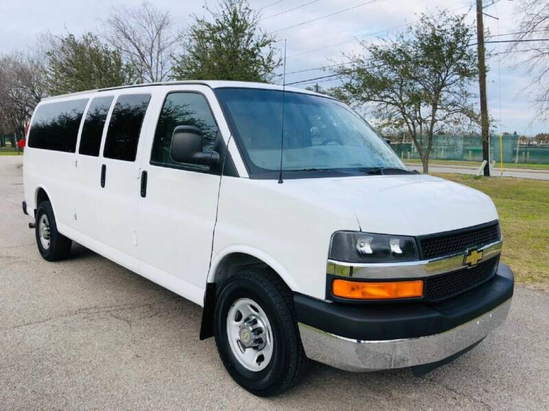 2015 Chevrolet Express Passenger for sale at Prestige Motor Cars in Houston TX