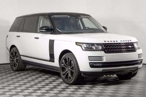 2016 Land Rover Range Rover for sale at Washington Auto Credit in Puyallup WA