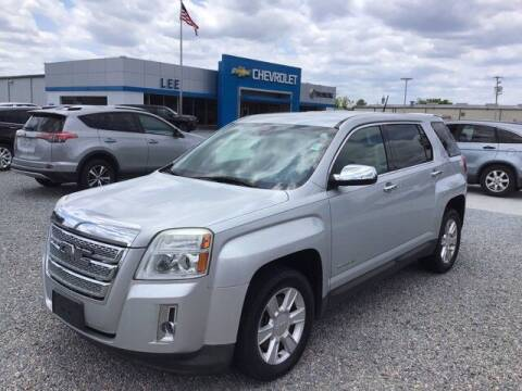 2013 GMC Terrain for sale at LEE CHEVROLET PONTIAC BUICK in Washington NC