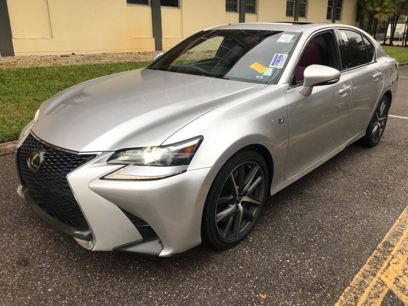 2016 Lexus GS 350 for sale at Florida Coach Trader Inc in Tampa FL