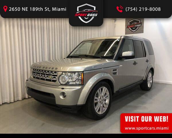 2010 Land Rover LR4 for sale in Miami, FL
