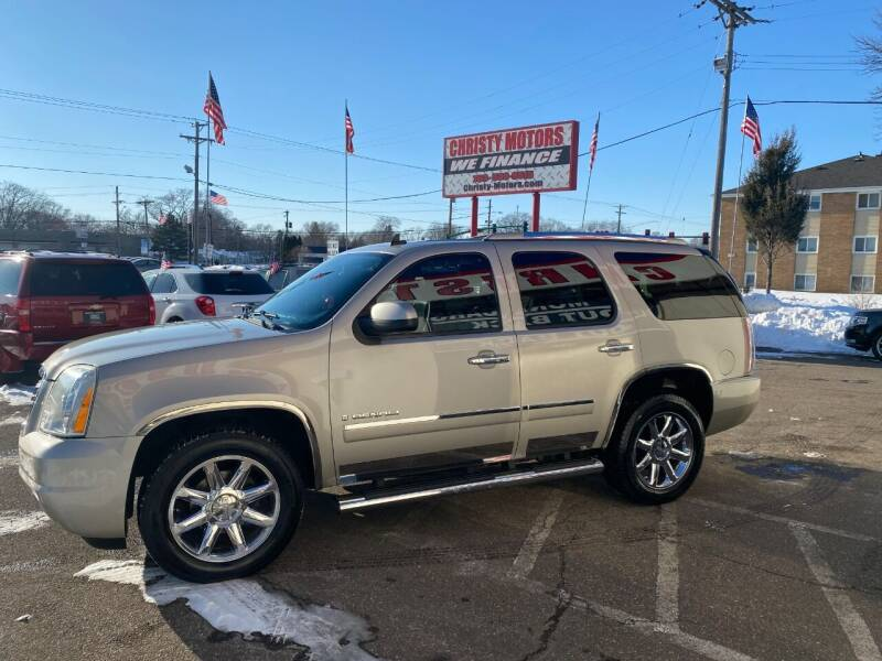 2009 GMC Yukon for sale at Christy Motors in Crystal MN