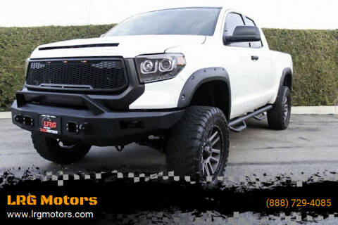2017 Toyota Tundra for sale at LRG Motors in Montclair CA