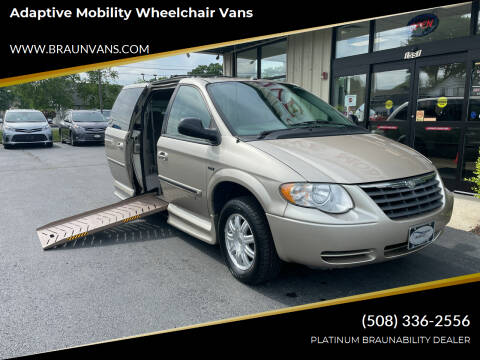 2007 Chrysler Town and Country for sale at Adaptive Mobility Wheelchair Vans in Seekonk MA
