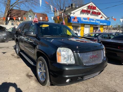 2012 GMC Yukon XL for sale at C & M Auto Sales in Detroit MI