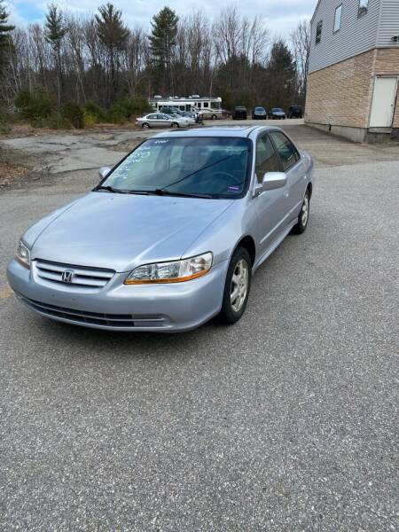 2001 Honda Accord for sale at Cars R Us Of Kingston in Kingston NH