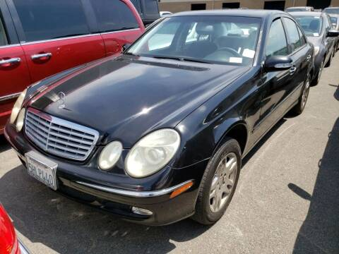 2004 Mercedes-Benz E-Class for sale at MCHENRY AUTO SALES in Modesto CA