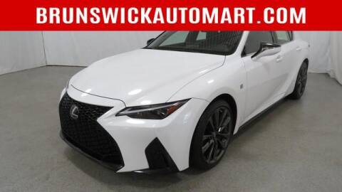 2021 Lexus IS 350 for sale at Brunswick Auto Mart in Brunswick OH