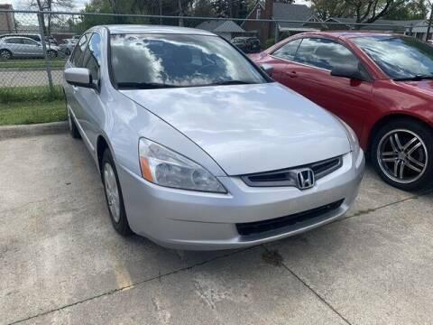 2004 Honda Accord for sale at Martell Auto Sales Inc in Warren MI