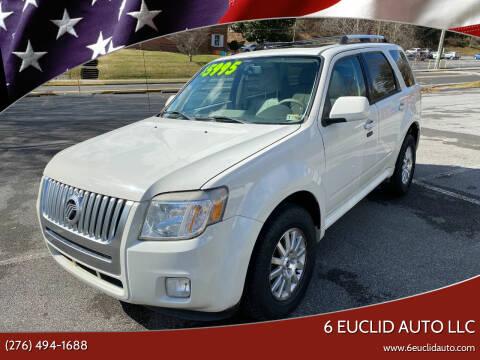 2010 Mercury Mariner for sale at 6 Euclid Auto LLC in Bristol VA