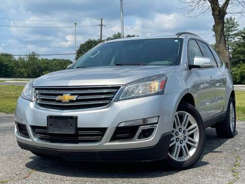 2013 Chevrolet Traverse for sale at MAGIC AUTO SALES in Little Ferry NJ
