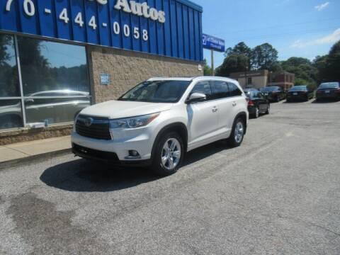 2015 Toyota Highlander for sale at 1st Choice Autos in Smyrna GA