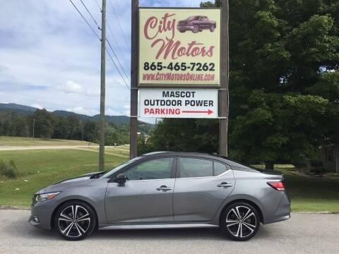 2020 Nissan Sentra for sale at City Motors in Mascot TN